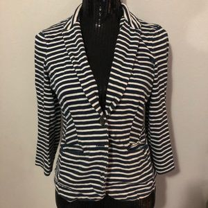 Lucky Brand Jeans Striped Blazer